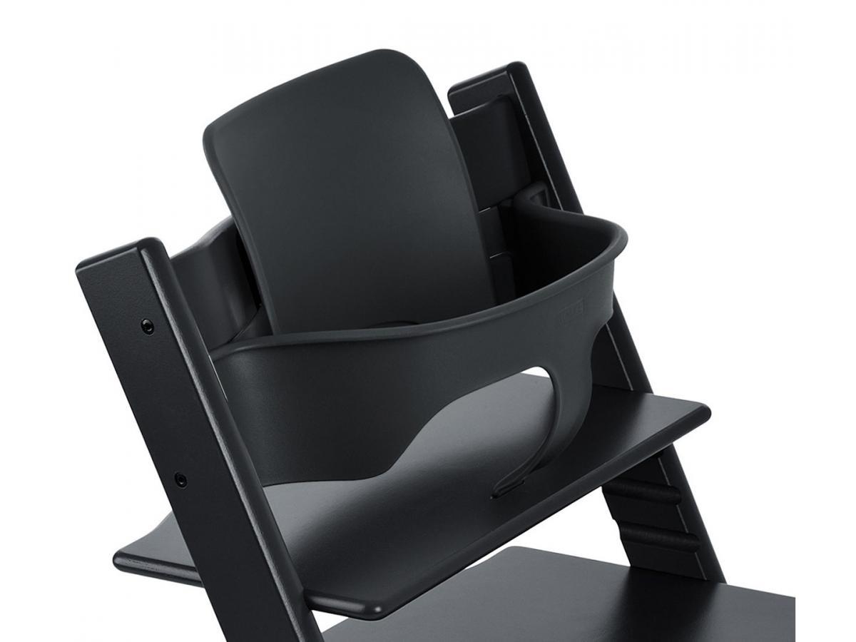 stokke accessoire baby set couleur noir pour chaise tripp trapp. Black Bedroom Furniture Sets. Home Design Ideas
