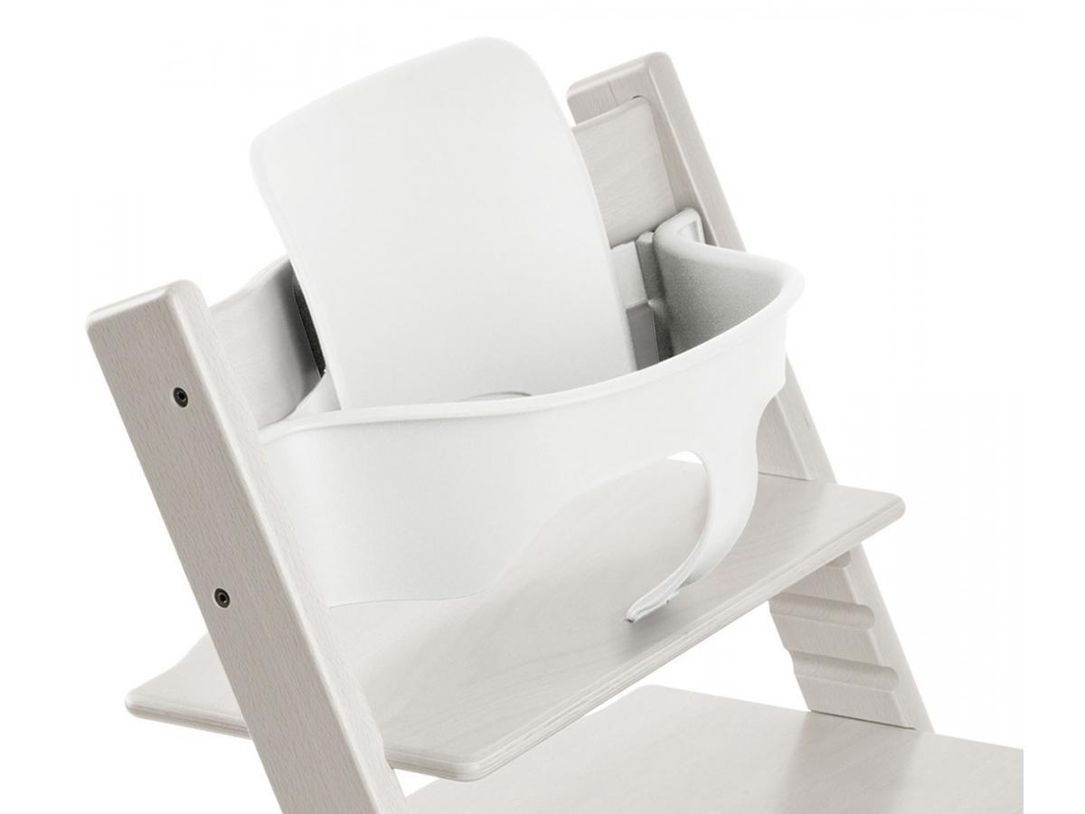 Stokke accessoire baby set couleur blanc pour chaise - Accessoire chaise tripp trapp ...