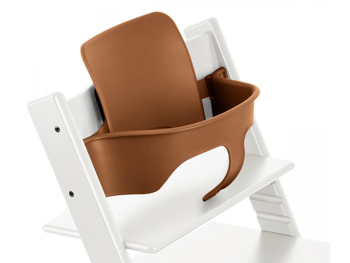 stokke accessoire baby set couleur noyer pour chaise tripp trapp. Black Bedroom Furniture Sets. Home Design Ideas