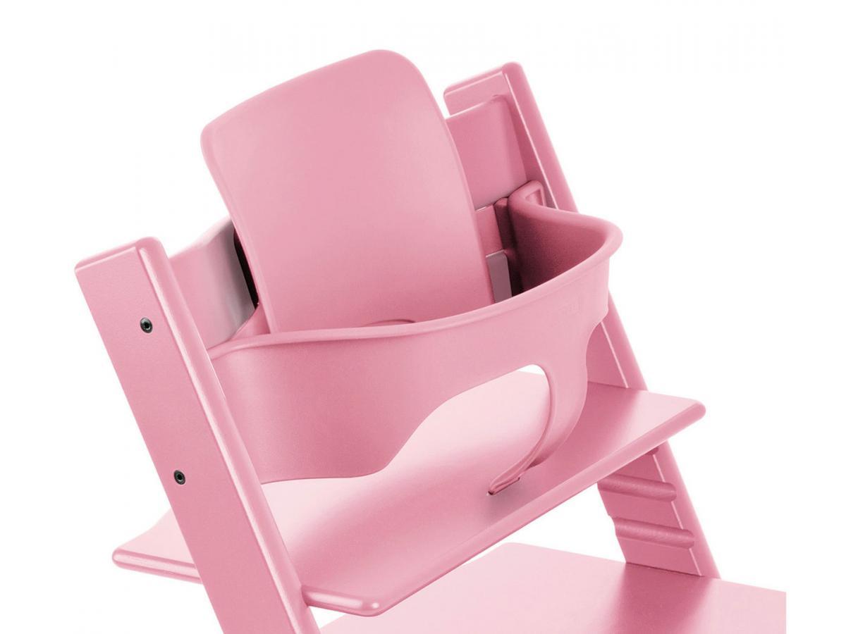 Stokke accessoire baby set couleur rose p le pour chaise - Accessoire chaise tripp trapp ...