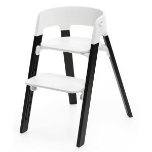 Stokke - 349407 - Pieds de chaise haute Steps Chêne Noir (333000)