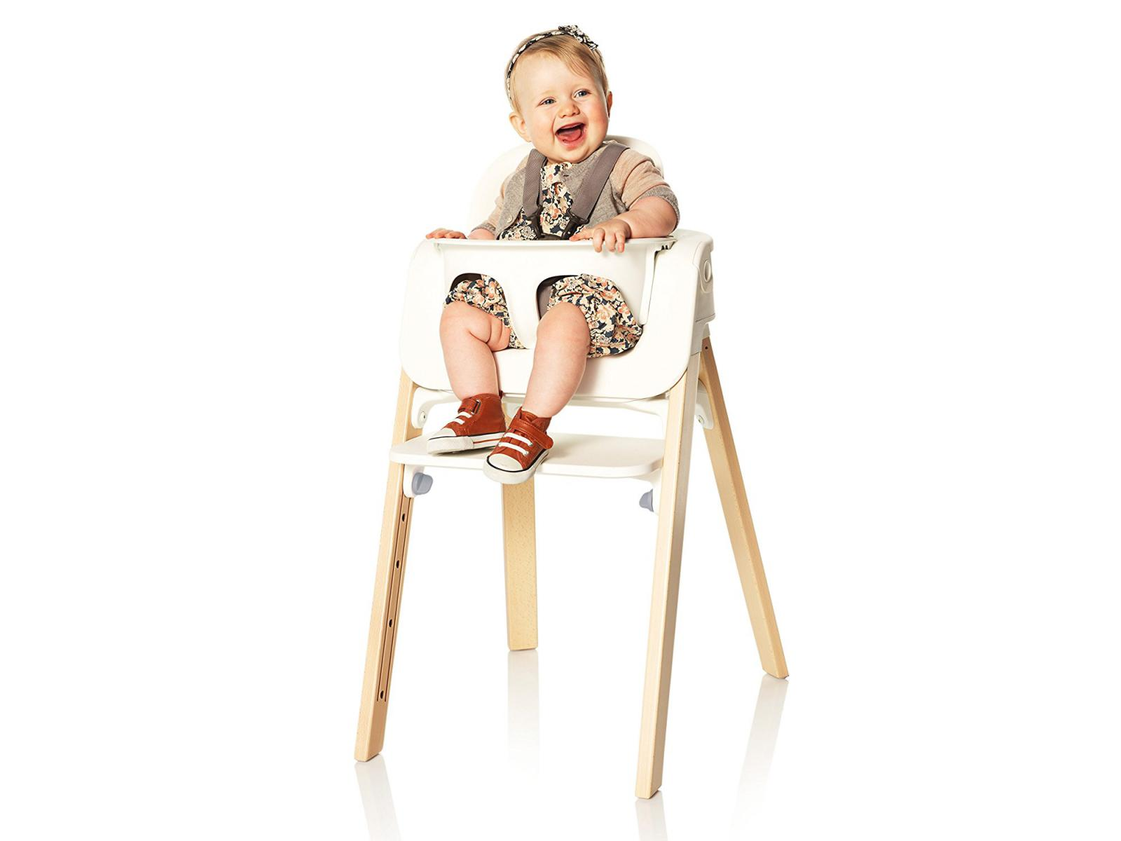 Chaise Pour Haute Omnw8vn0 Stokke Blanc Set Baby Steps 0OX8nwPk