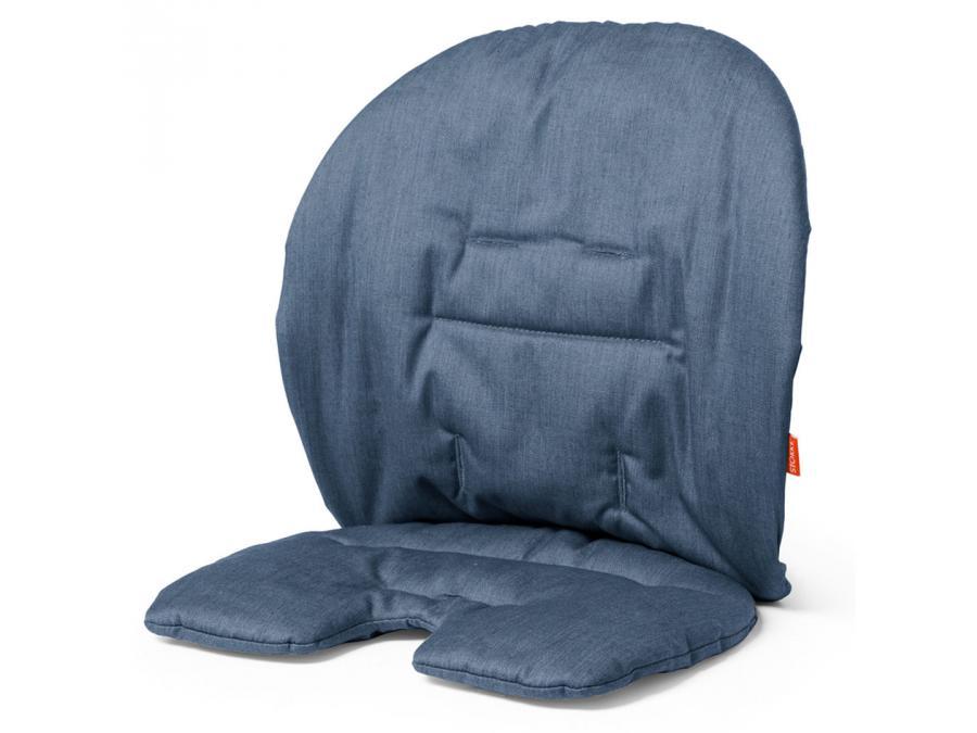 stokke coussin bleu pour chaise haute stokke steps. Black Bedroom Furniture Sets. Home Design Ideas