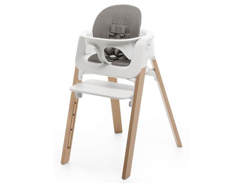 stokke coussin greige pour chaise haute stokke steps. Black Bedroom Furniture Sets. Home Design Ideas