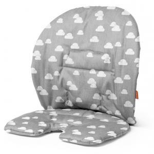 Stokke - 349906 - Coussin Gris nuage pour chaise haute Steps (333026)
