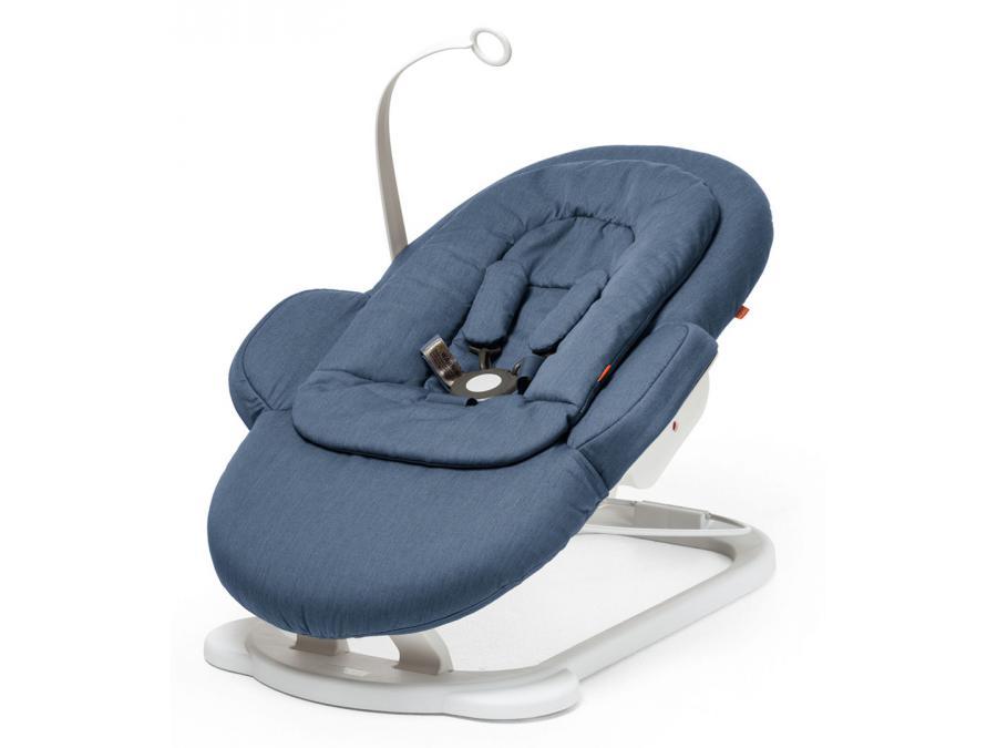 stokke transat steps bleu. Black Bedroom Furniture Sets. Home Design Ideas
