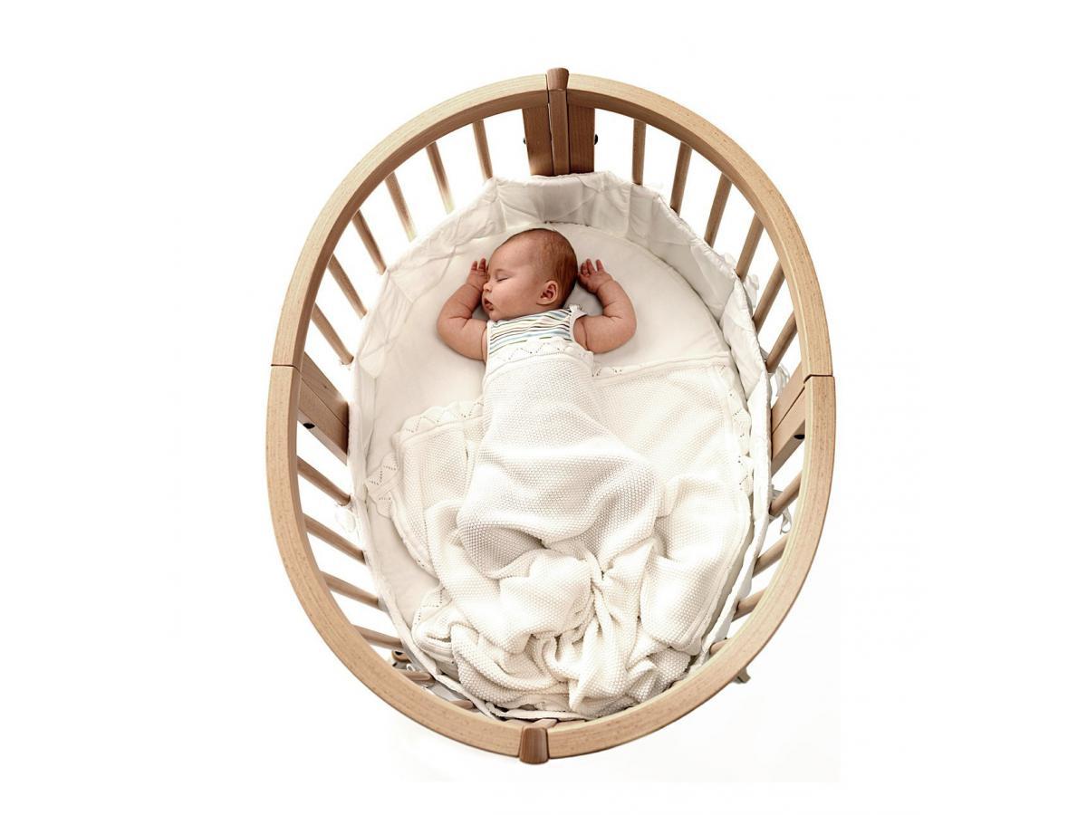 stokke al se pour lit sleepi blanc. Black Bedroom Furniture Sets. Home Design Ideas
