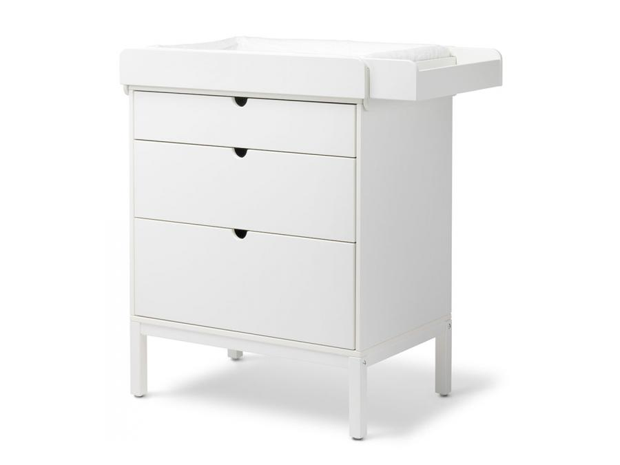 stokke plan langer pour commode blanc. Black Bedroom Furniture Sets. Home Design Ideas