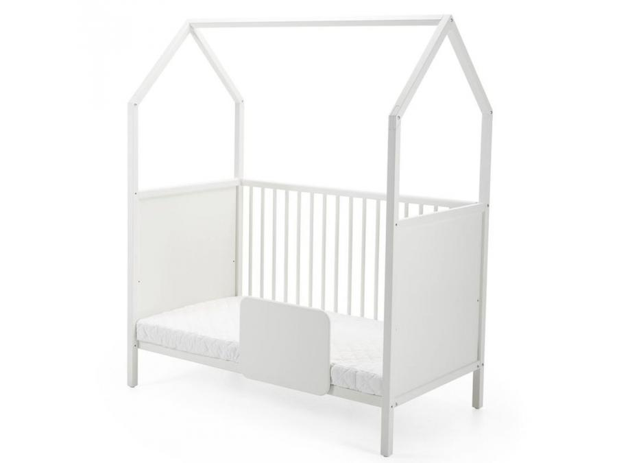 stokke rail de lit pour lit home blanc. Black Bedroom Furniture Sets. Home Design Ideas