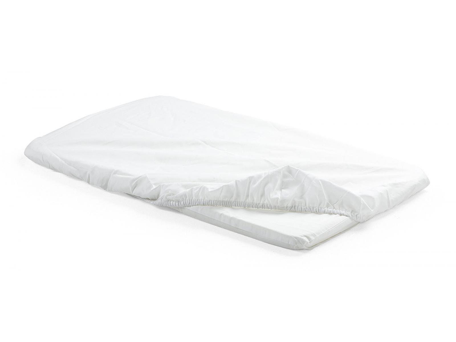 stokke housse de matelas pour berceau home 2pcs blanc. Black Bedroom Furniture Sets. Home Design Ideas