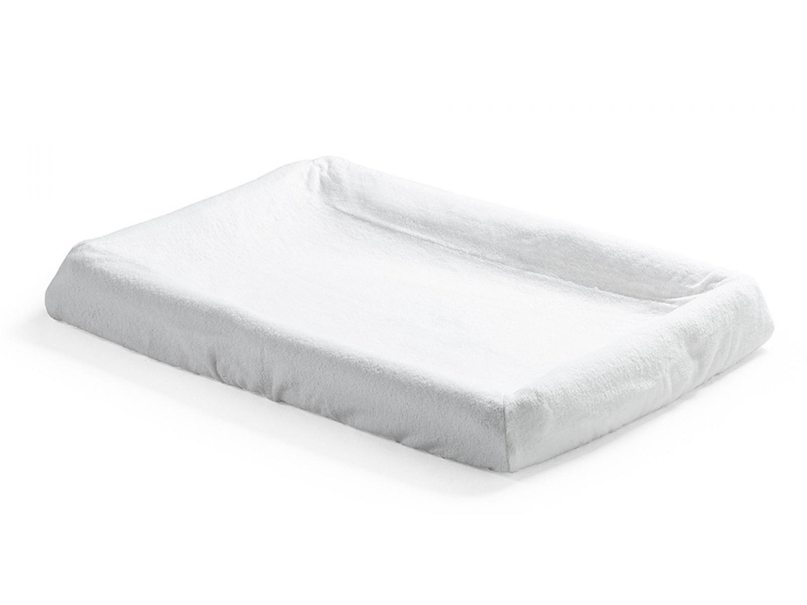 stokke housse de matelas langer home 2pcs blanc. Black Bedroom Furniture Sets. Home Design Ideas