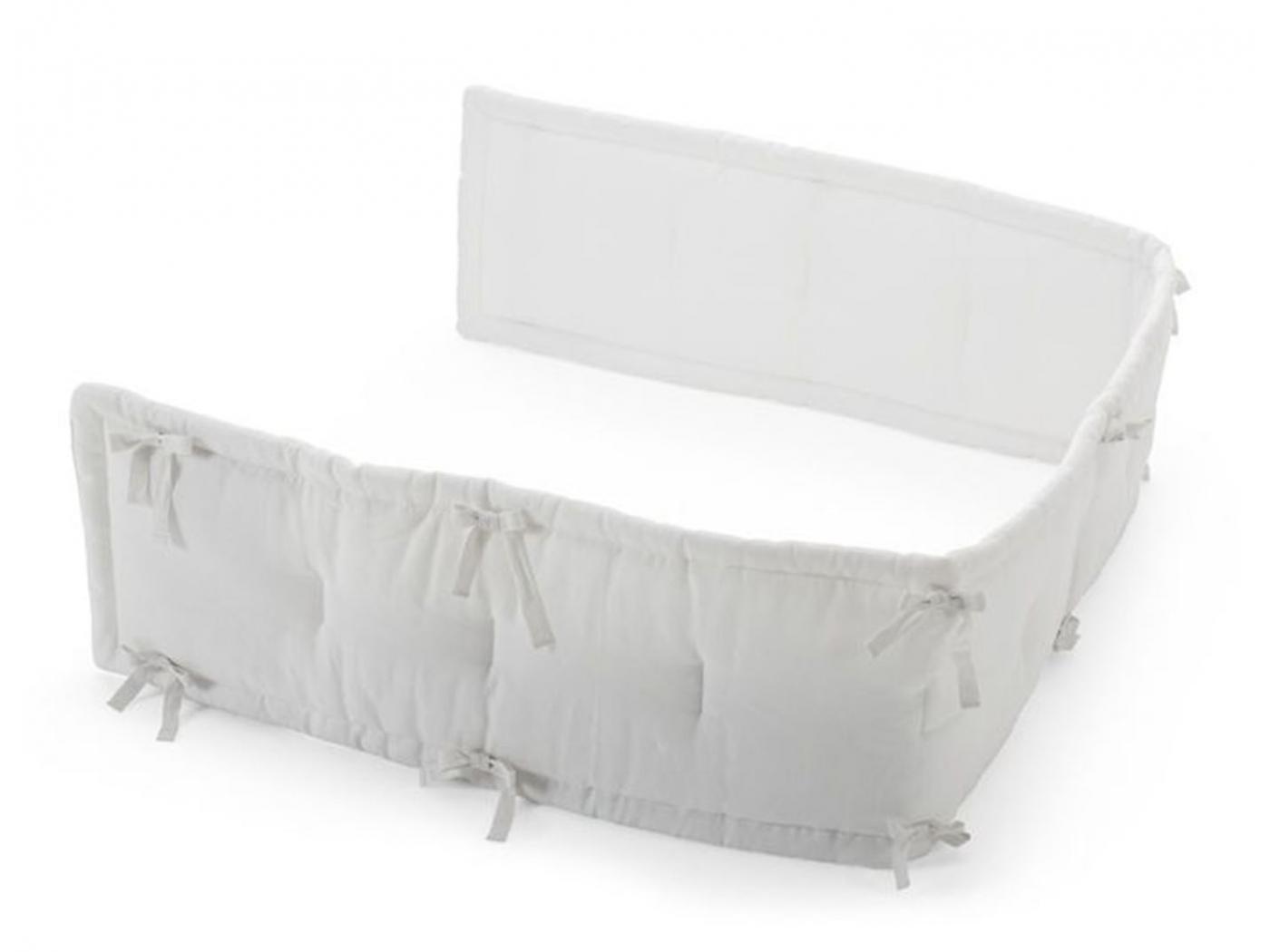 stokke mi tour de lit stokke couleur blanc. Black Bedroom Furniture Sets. Home Design Ideas