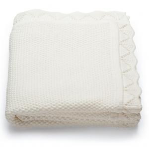 Stokke - 106205 - Sleepi(TM) Plaid Coton, 100x80cm classic blanc (333238)