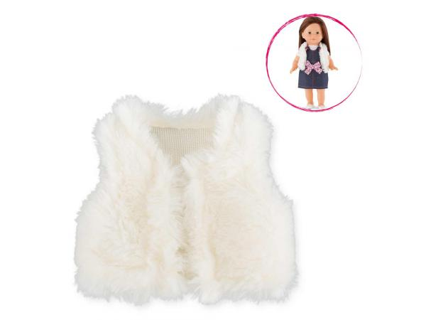 Ma corolle veste sans manches (fausse fourrure) - taille 36 cm - âge : 4+