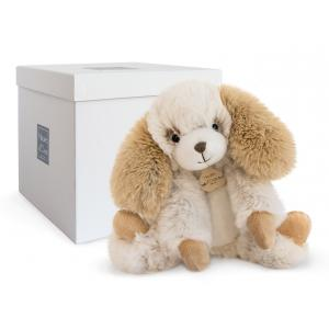 Histoire d'ours - HO2721 - Les animaux de la ferme - Les Softy - SOFTY - CHIEN ECRU PM (334284)