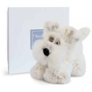 Histoire d'ours - HO2724 - Softy - chien scottish petit modèle - 25 cm - boîte cadeau (334290)