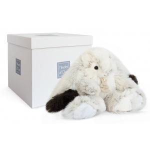 Histoire d'ours - HO2731 - Softy - lapin Ulysse moyen modèle - 30 cm - boîte cadeau (334298)