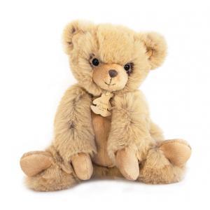 Histoire d'ours - HO2718 - Softy - ours miel petit modèle - 25 cm - boîte cadeau (334304)