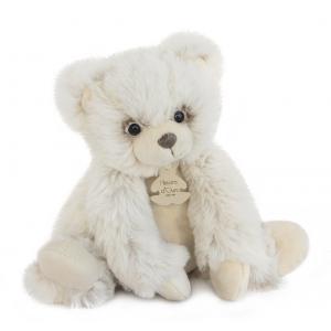 Histoire d'ours - HO2715 - Softy - ours écru petit modèle - 25 cm - boîte cadeau (334310)
