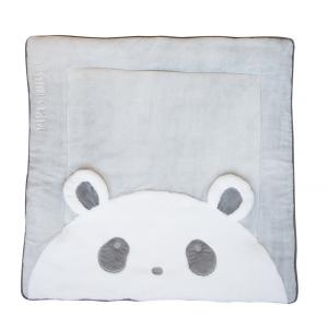 Doudou et compagnie - DC3063 - Tapidou panda  - taille 100x100 cm (334400)