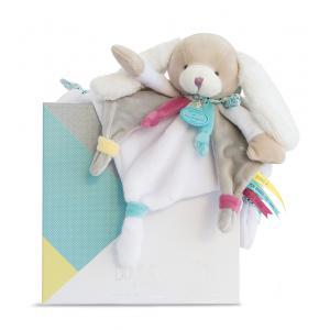 Doudou et compagnie - DC3073 - Chien toopi - doudou - 25 cm - boîte cadeau (334522)