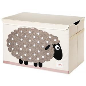 3 Sprouts - 107-001-009 - Coffres à jouets Mouton (334640)