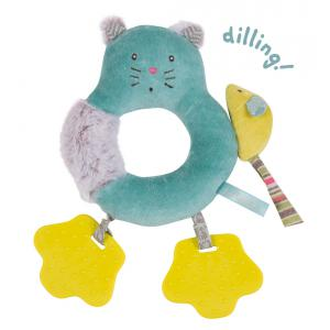 Moulin Roty - 660038 - Anneau-hochet chat Les Pachats (335304)