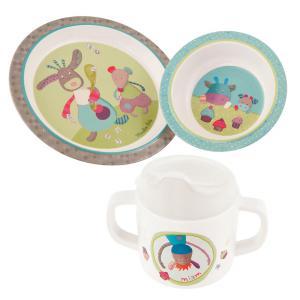 Moulin Roty - 629230 - Set vaisselle Jolis pas beaux (336014)