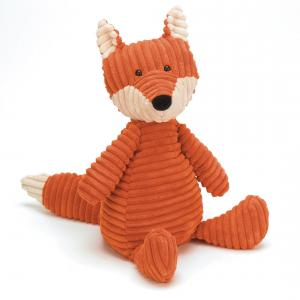 Jellycat - ROY3FX - Peluche Renard Cordy Roy Moyen Animal sauvage - 38 cm (336236)