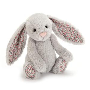 Jellycat - BLB6SB - Peluche Lapin Blossom Silver Bunny Small 18cm (336254)