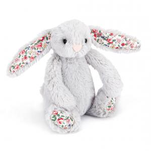 Jellycat - BLSB6BS - Peluche lapin Blossom silver - H =13 cm (336262)