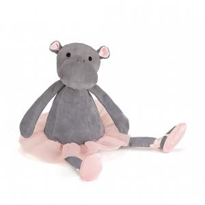 Jellycat - DD6H - Dancing Darcey Hippo - 33 cm (336308)