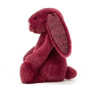 Jellycat - PNL2PN - Bashful Sparkly Cassis Bunny Small - 18 cm (336462)