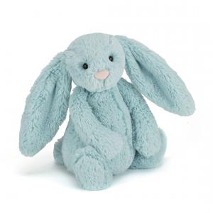 Jellycat - BASS6AQ - Bashful Aqua Bunny Small (336632)