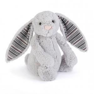 Jellycat - BASS6BLA - Bashful Blake Bunny Small (336636)