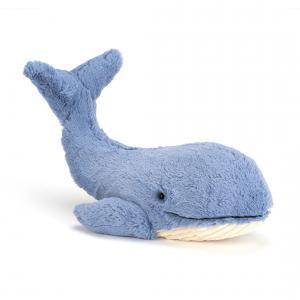 Jellycat - WIL2W - Peluche Baleine Wilbur Animal Marin- 46 cm (336732)