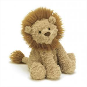 Jellycat - FW6LN - Peluche Lion Fuddlewuddle  Moyen Animal Sauvage -23 cm (336820)