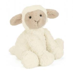 Jellycat - FW6LAM - Peluche agneau Fuddlewuddle - L = 8 cm x l = 13 cm x H =23 cm (336866)