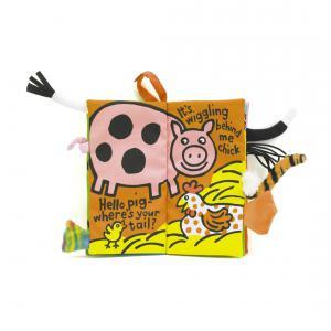 Jellycat - BK444FT - Tails Farm Book - 21 cm (336962)