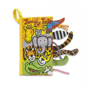 Jellycat - BN444J - Tails Jungly Book (336968)