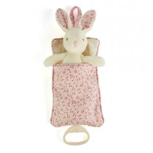 Jellycat - PEB4MP - Peluche Musicale Blossom Cream Bunny Star Pull Little Jellycat (337062)