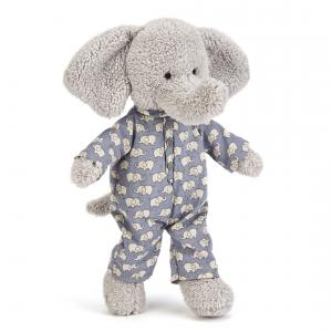 Jellycat - BED4E - Pelche Elephant Au Coucher -23 cm (337076)