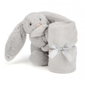Jellycat - SO4BS - Bashful Silver Bunny Soother -34 cm (337138)