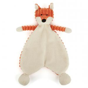 Jellycat - SRS4FX - Doudou Plat Bébé Renard Crody Roy Animal sauvage-23 cm (337274)