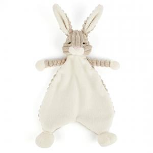 Jellycat - SRS4HA - Doudou plat lièvre Cordy Roy Baby Soother - L = 6 cm x l = 19 cm x H =23 cm (337280)