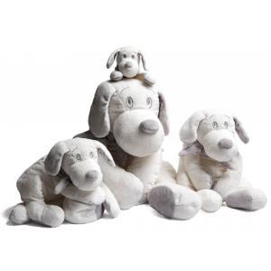 Dimpel - 811135 - Doudou chien Fifi 50 cm - blanc (337416)