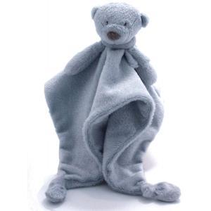 Dimpel - 882934 - Noann doudou bleu, ours doudou (337452)