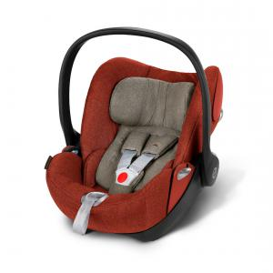 Cybex - 517000053 - Siège auto CLOUD Q Plus orange-Autumn gold (338060)