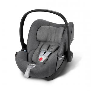 Cybex - 517000051 - CLOUD Q PLUS Manhattan Grey | mid grey (338062)
