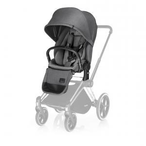 Cybex - 517000237 - Siège de luxe gris-Manhattan grey pour poussette Priam (338298)